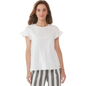 Armani Exchange Crew Neck Blouse