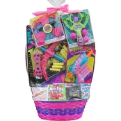 Wondertreats Girls Super Hero Play Set Extra Large Easter Basket