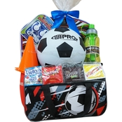 Wondertreats Boys Soccer Gym Bag Easter Basket
