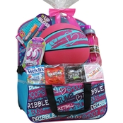 Wondertreats Girls Basketball Gymbag Easter Basket