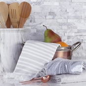 House of Quartz Grey  3pc Kitchen Towel Set