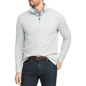 Chaps Cotton Blend Half Zip Pullover