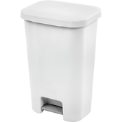 Sterilite 11.9 gal. Step On Wastebasket