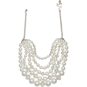 jules b 5 Row Frontal Necklace