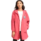 DKNY Long Logo Jacket with Hood
