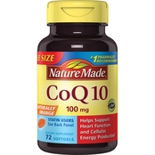 Nature Made CoQ10 100mg Value Size 72 ct.