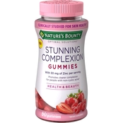 Nature's Bounty Optimal Solutions Stunning Complexion Gummies 60 Ct.