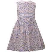 Bonnie Jean Toddler Girls Ditsy Print Peter Pan Collar Dress