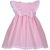 Bonnie Jean Toddler Girls Striped Seersucker Dress With Bow