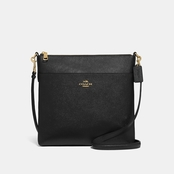 COACH Large Signature Kitt Messenger Crossbody