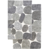 Chesapeake Pebbles Bath Rug 2 pc. Set
