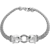 Effy Signature Collection 925 Sterling Silver Bracelet with Diamonds