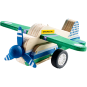 Stanley Pull Back Wood Model Airplane Kit