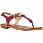 Michael Kors Plate Thong Sandals