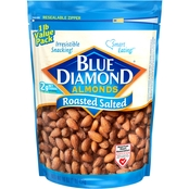 Blue Diamond Almonds Roasted Salted 16 oz. Bag