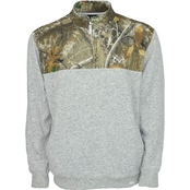 Realtree Impact Quarter Zip Pullover