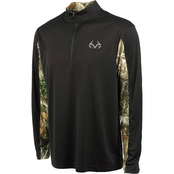Realtree Stealth Performance Quarter Zip Windshirt