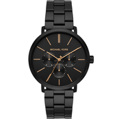 Michael Kors Men's Black IP Stainless Steel Blake Multifunction Watch
