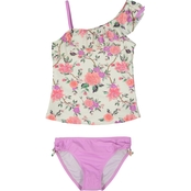 Tommy Bahama Girls Floral Tankini Swimsuit