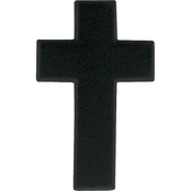 Army Branch Of Service Chaplain Christian Subdued Pin-on Sta Black, 2 pk.