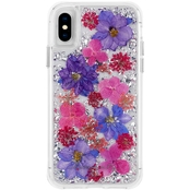 Case-mate Karat Petals Case For Apple iPhone XS Purple