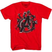Marvel Boys Avengers Team A Tee