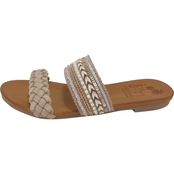 f073dca78c35 Jellypop Women s Sacha Strap Slide Sandals