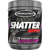 Muscletech #Shatter SX-7 Black Onyx Ripped 20 servings Grape Candy US