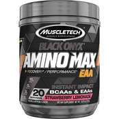 Muscletech SX7 Black Onyx Amino Max EAA Strawberry Lemonade 20 servings