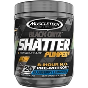 Muscletech SX7 Black Onyx Shatter Pumped 8 Blueberry Lemonade 20 servings