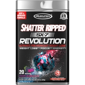 Muscletech SX 7 Revolution Shatter Ripped Grape Bubblegum, 20 ct.