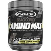 Muscletech SX-7 Black Onyx Amino Max White Grape Freezie, 20 ct.
