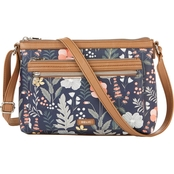 Relic Evie Crossbody Navy Floral