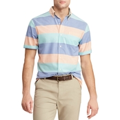 Chaps Easy Care Striped Button Down Shirt