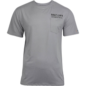 Salt Life Run And Gun Performance Pocket Tee