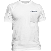 Salt Life Striper Flag Pocket Tee