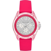 Michael Kors Women's Acetate Case Silicone Wren Multifunction Watch MK667