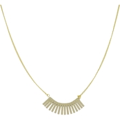 Panacea Mini Suede Curve Necklace