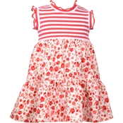 Bonnie Jean Infant Girls Knit Babydoll Dress