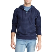 Chaps Striped French Terry Hoodie