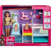 Mattel Barbie Skipper Babysitters Inc Nursery Playset