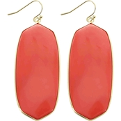 Panacea Oval Cut Stone Earrings