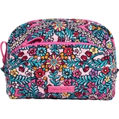 Vera Bradley Zip Top Cosmetic Bag