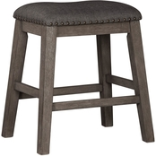 Signature Design by Ashley Caitbrook Upholstered Counter Stool 2 pk.