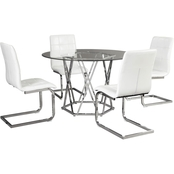 Madanere Table with 4 BLK chairs