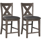 Signature Design by Ashley Caitbrook Counter Stool 2 pk.