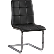 Madanere Side Chair Black 4pk