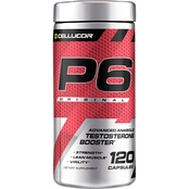 Cellucor P6 Original Advanced Anabolic Testosterone Booster Capsules 120 Ct.