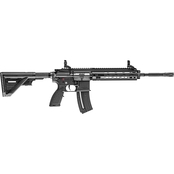 HK HK416 22LR 16.1 in. Barrel 20 Rnd Rifle Black