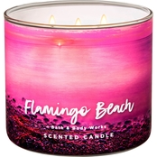 Bath & Body Works Adventure Awaits Flamingo Beach 3 Wick Candle
